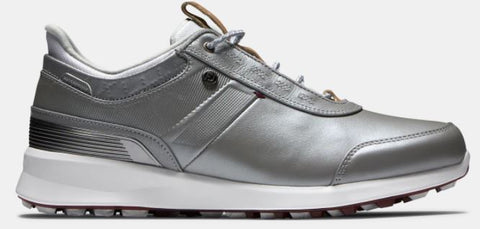 FootJoy Stratos Women's Golf Shoes - Silver 90113