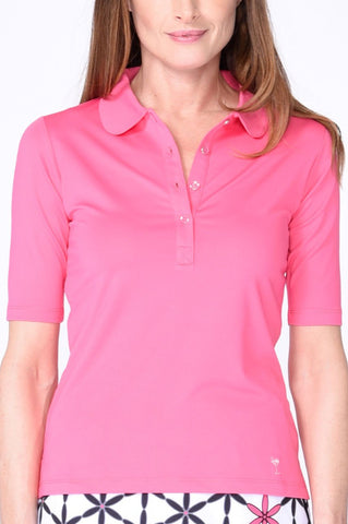 Golftini Elbow Fashion Top FT18 Pink