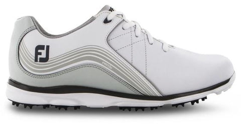 FootJoy 2019 Women's Pro/SL Golf Shoes - White/Charcoal 98100