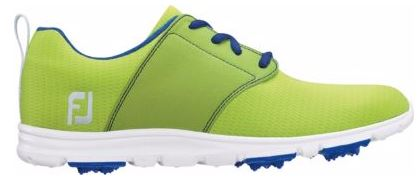 Foot Joy Women's enJoy Golf Shoes - Lime/Sapphire 95709
