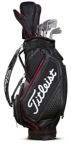 Titleist 2020 Jet Black Midsize Staff Bag