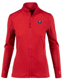 Levelwear Washington Capitals Womens Alyssa Full Zip Jacket: RED
