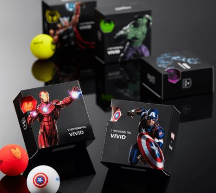 VOLVIK Marvel 4 Ball Hero Pack