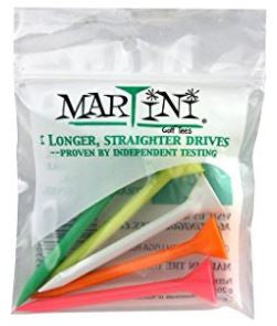 "Martini 3 1/4"" Assorted Golf Tees"