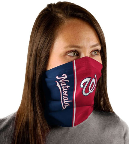 WinCraft Washington Nationals Vertical Split Fan Wrap