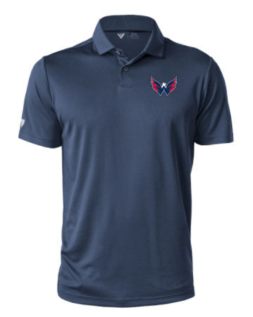 Levelwear Washington Capitals Mens Duval Polo: NAVY