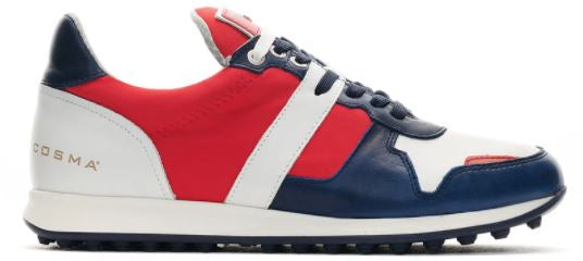 Duca Del Cosma ENERGY Navy/White/Red Golf Shoes