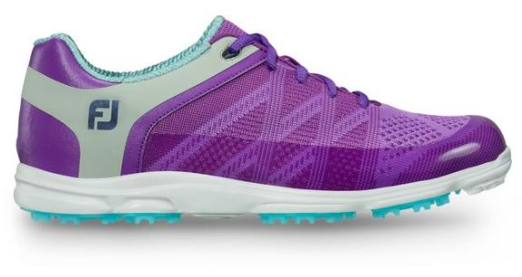 Foot Joy Women's Sport SL Golf Shoes - Purple/Lt. Grey/Lt. Blue 98028