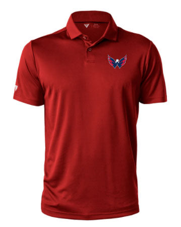 Levelwear Washington Capitals Mens Duval Polo: RED