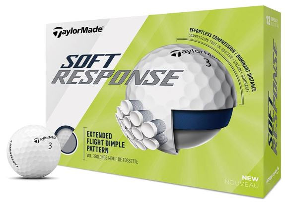 TaylorMade Soft Response Golf Balls | Assorted Colors