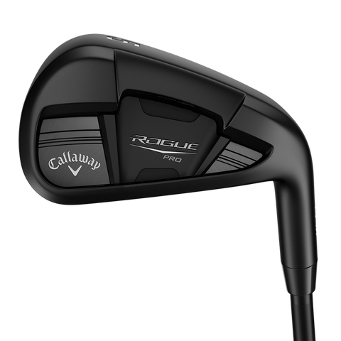 Callaway Rogue Pro Black Steel Irons