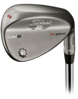 Titleist Vokey SM6 Steel Gray Wedge