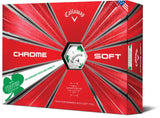 Callaway Chrome Soft Shamrock TRUVIS Limited Edition Golf Balls
