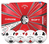 Callaway Chrome Soft Truvis Suits Golf Balls