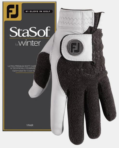 FootJoy Men's StaSof Winter Gloves