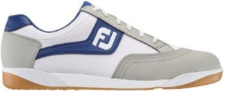Foot Joy FJ Originals Golf Shoes - White/Grey/Royal 45346