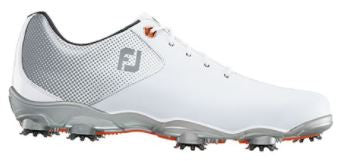 Foot Joy D.N.A. Helix Golf Shoes - White/Silver 53316