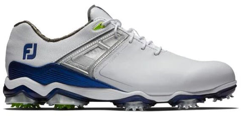 Foot Joy Tour X Golf Shoes - White/Navy Lime 55404