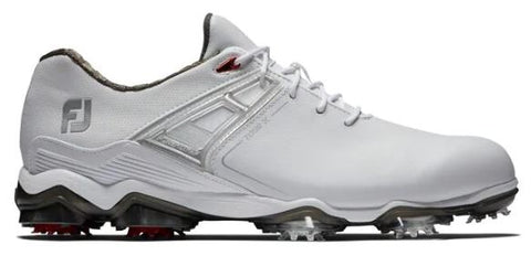 Foot Joy Tour X Golf Shoes - White/Red 55403