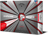 Callaway 2018 Chrome Soft X TRUVIS Golf Balls
