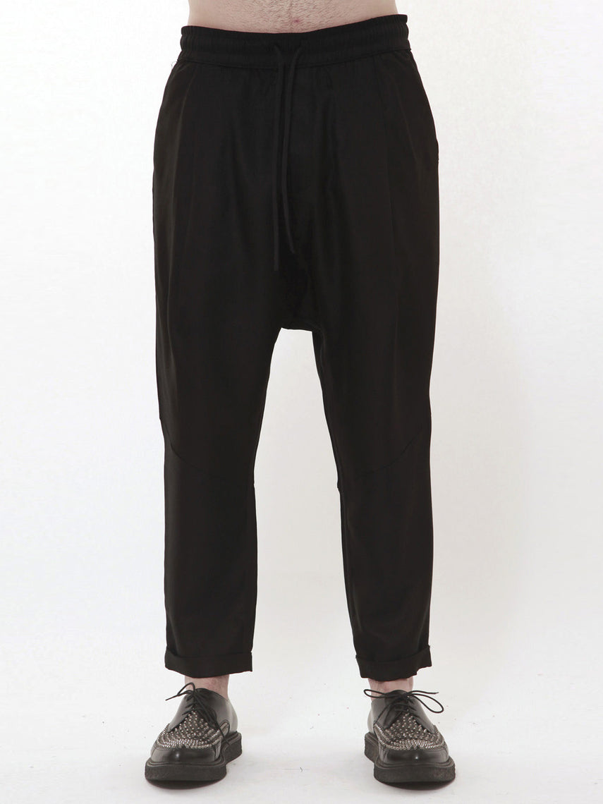 Strife Silk-Wool Pant / Black