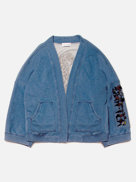 Panar Kimono Cardigan / Indigo, Women's, Clothing, Apparel - Drifter Industries