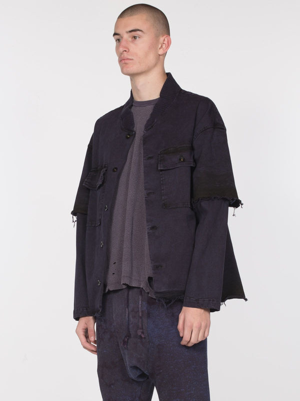 Isomer Denim Jacket / Blackberry, Men's, Clothing, Apparel - Drifter Industries