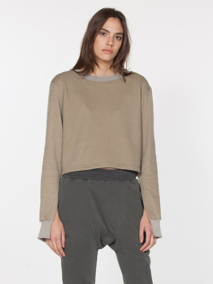 Basra Pullover / Washed Black, Women's, Clothing, Apparel - Drifter Industries