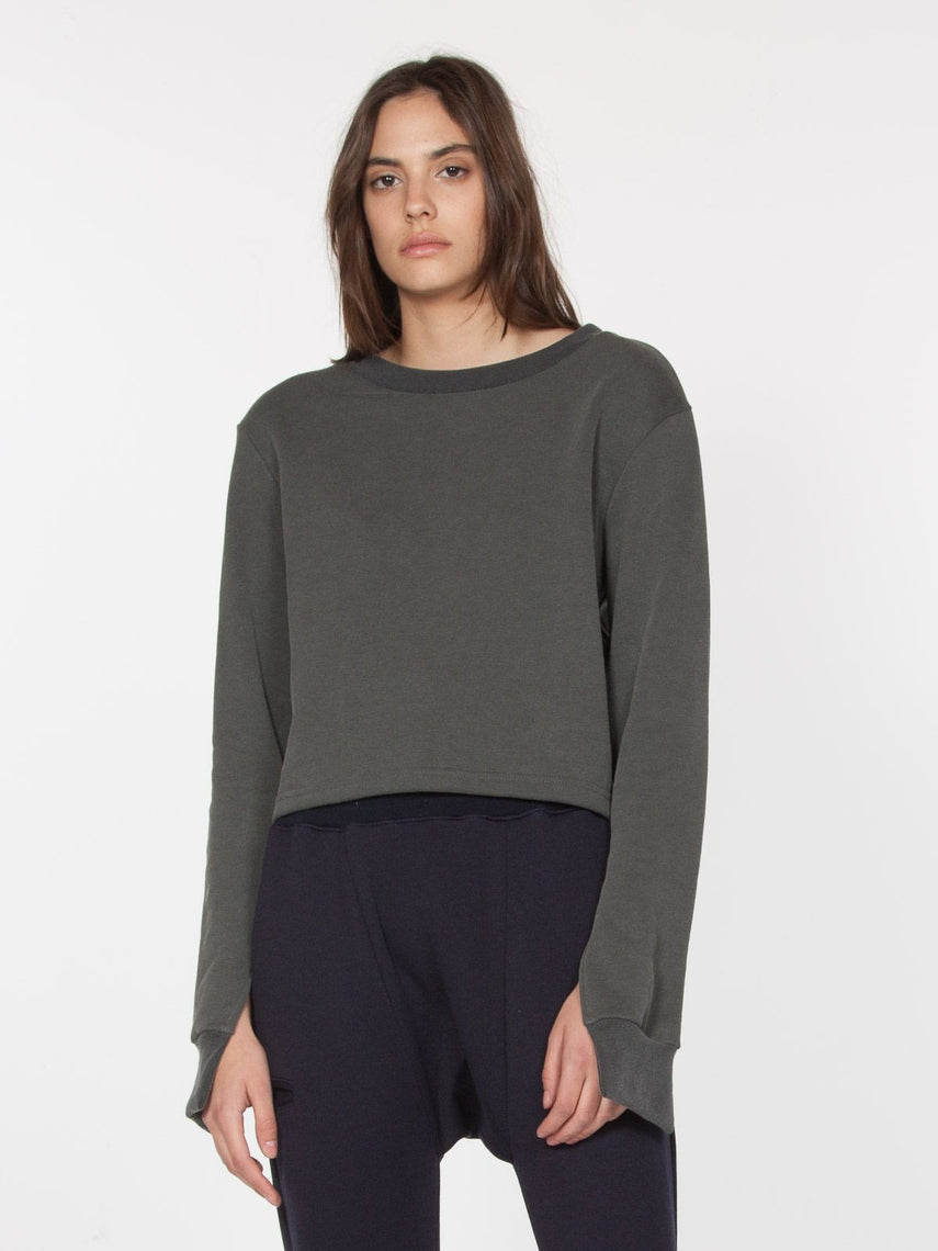 Basra Pullover / Dirt Grey, Women's, Clothing, Apparel - Drifter Industries