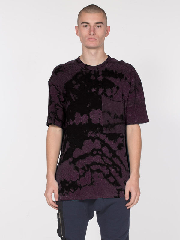 Granite Short Sleeve Top / Blackberry Rain, Men's, Clothing, Apparel - Drifter Industries