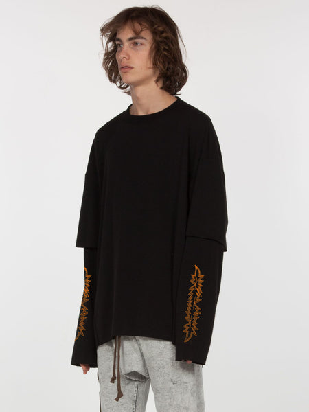 Sylvan Elongated Pullover