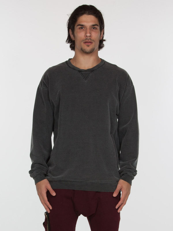 Bolton Pullover / Black, Men's, Clothing, Apparel - Drifter Industries