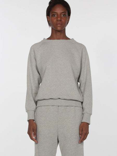Lilith Pullover / Heather Grey