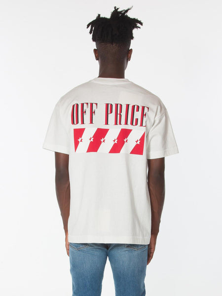 OFF-PRICE TEE / White