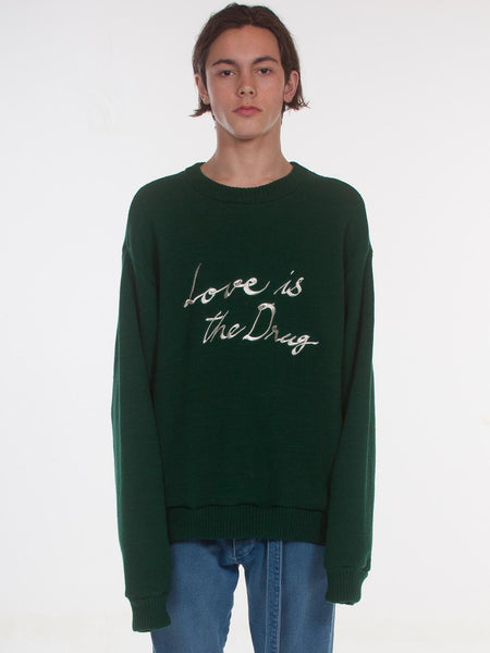 Cogender - Lover Pullover / Hunter Green
