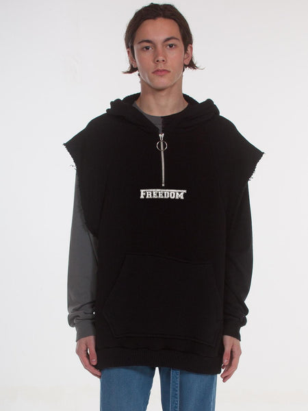 Cogender - Warwick Pullover / Black, Men's, Clothing, Apparel - Drifter Industries