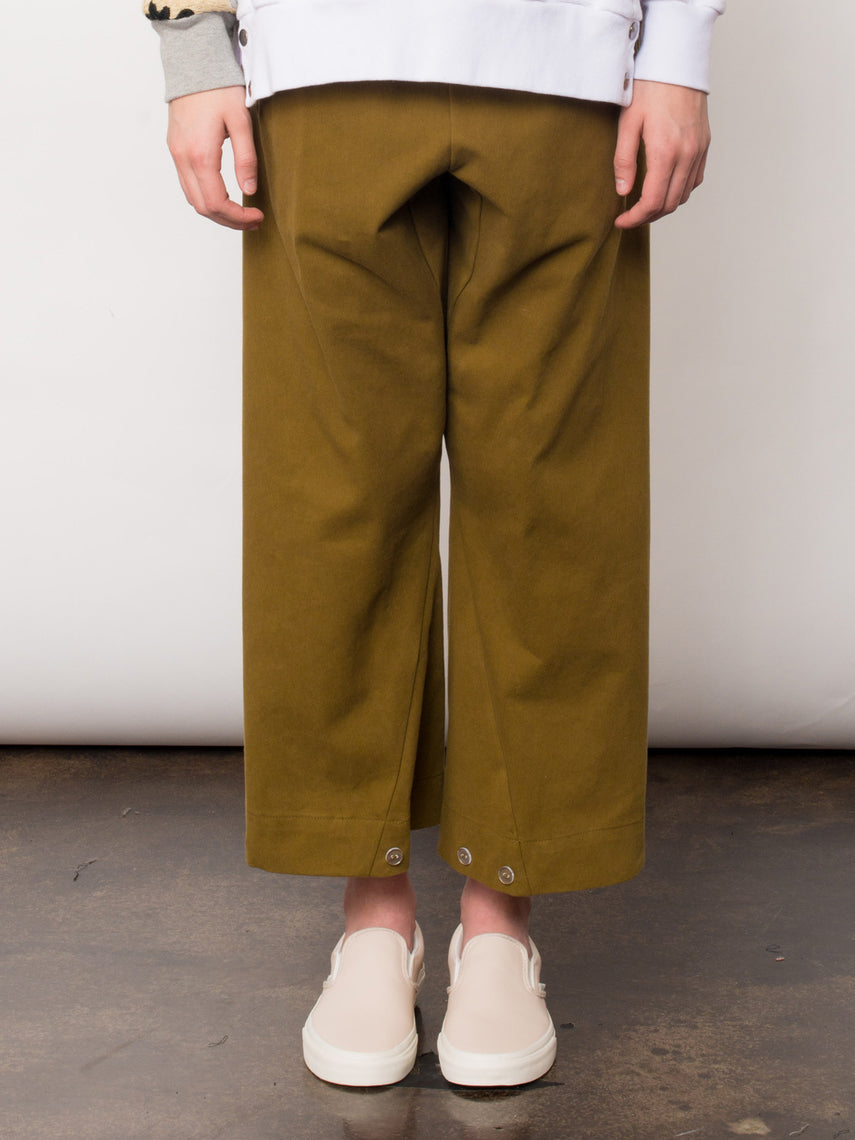 Alma Trouser / Gothic Olive, Women's, Clothing, Apparel - Drifter Industries