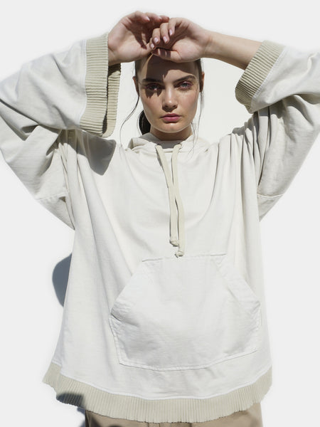 Thane Oversized Hoodie / Moth, women, Clothing, Apparel - Drifter Industries