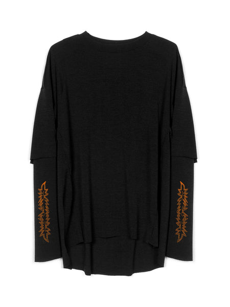 Cogender - Sylvan Pullover / Black, Men's, Clothing, Apparel - Drifter Industries