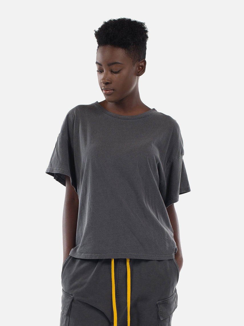 Wynn Oversized Tee / Washed Black