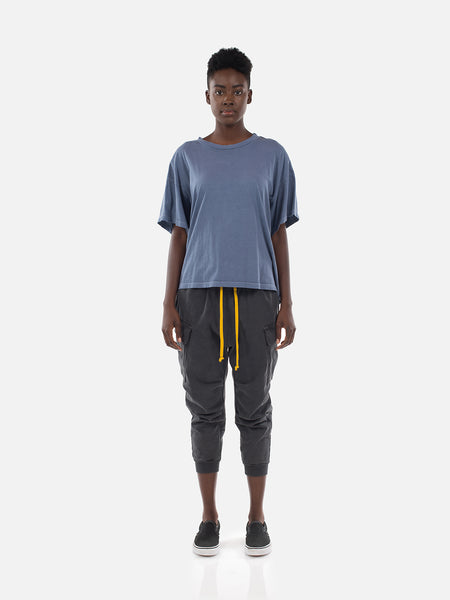 Wynn Oversized Tee / Washed Blue