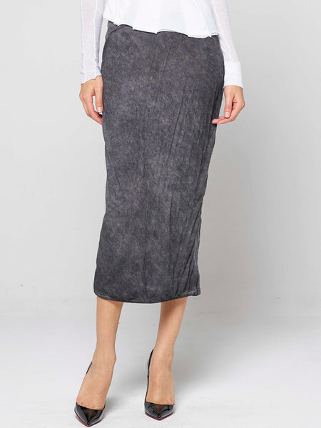 Aquaria Black Wash Skirt / Black Wash, Women's, Clothing, Apparel - Drifter Industries