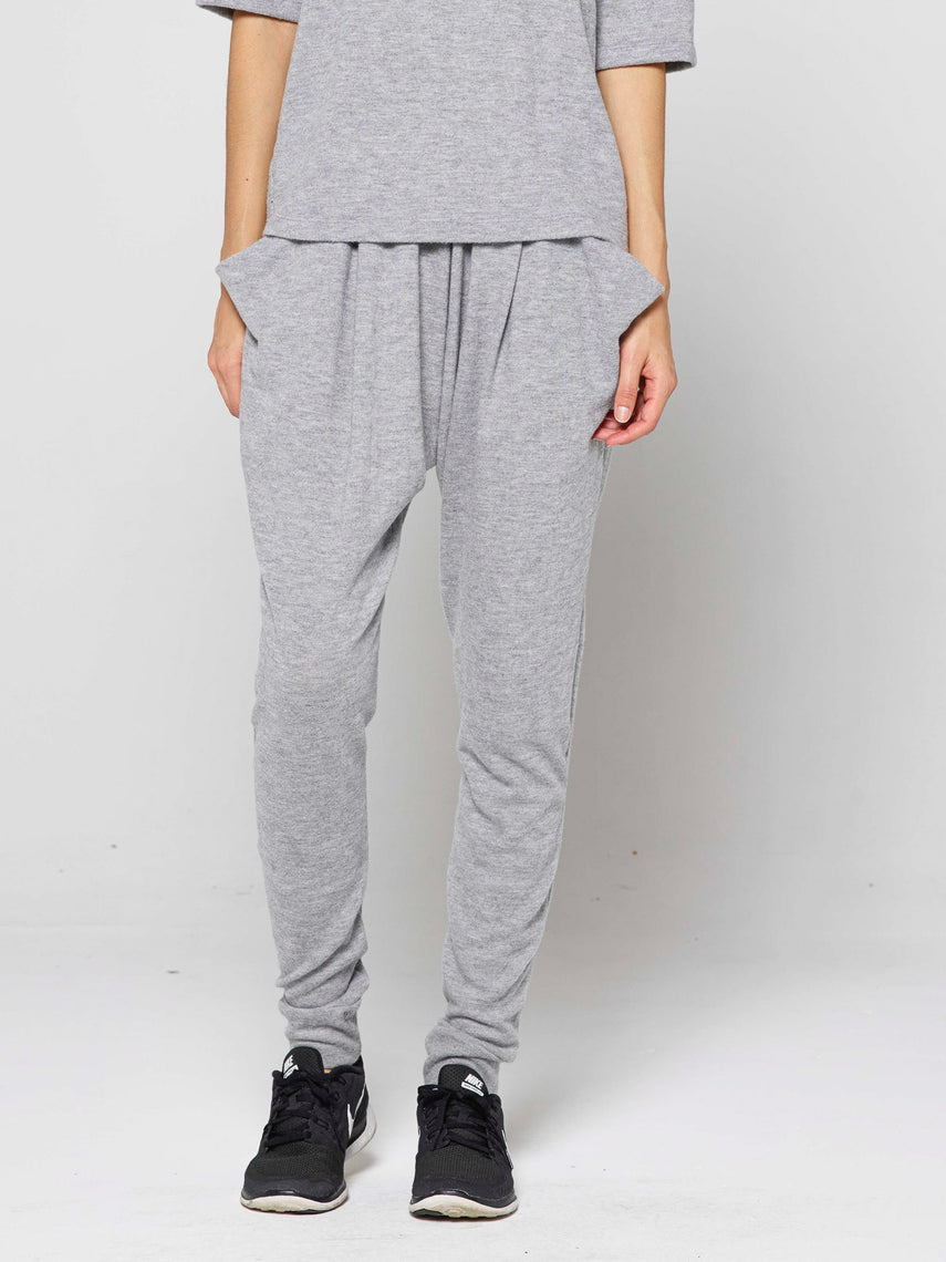 Skylor Tapered-fit Lounge Pant / Heather Grey