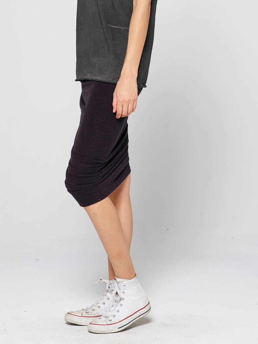 Adorn Lounge Skirt / Black