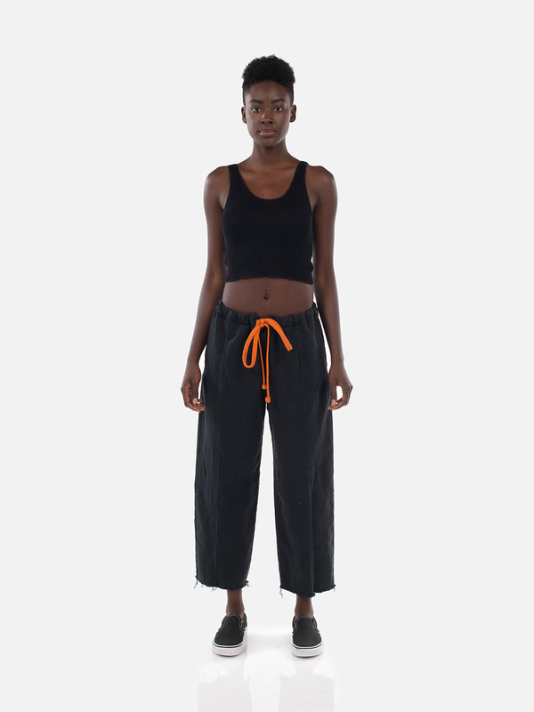Clemente Crop Top / Black, Women's, Clothing, Apparel - Drifter Industries