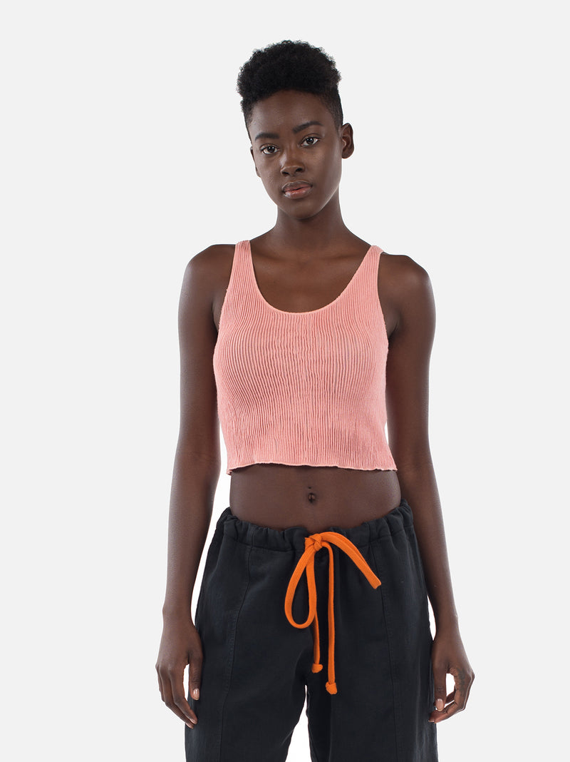 Clemente Crop Top / Coral Almond, Women's, Clothing, Apparel - Drifter Industries