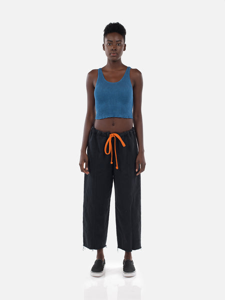 Clemente Crop Top / Copen Blue, Women's, Clothing, Apparel - Drifter Industries
