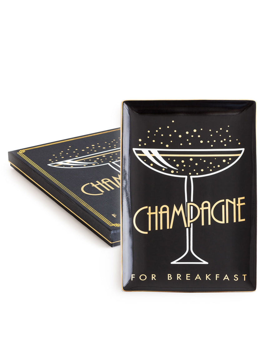 Jazz Age Tray Champagne for Breakfast