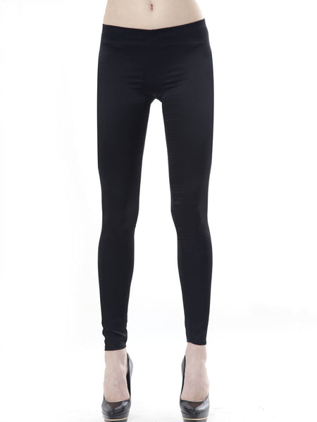 Alta Silk Twill Legging / Black