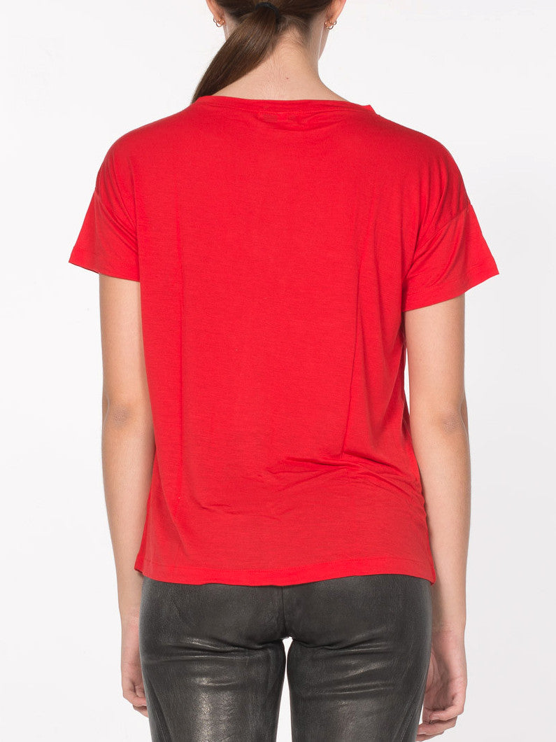 Cavil Relaxed Fit Tee / Red, Women's, Clothing, Apparel - Drifter Industries